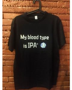 Camisa My Blood Type is IPA+